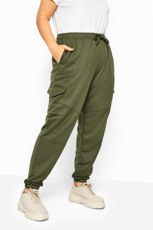 Plus Size  LIMITED COLLECTION Khaki Utility Joggers