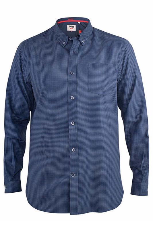 D555 Navy Melbourne Long Sleeve Shirt