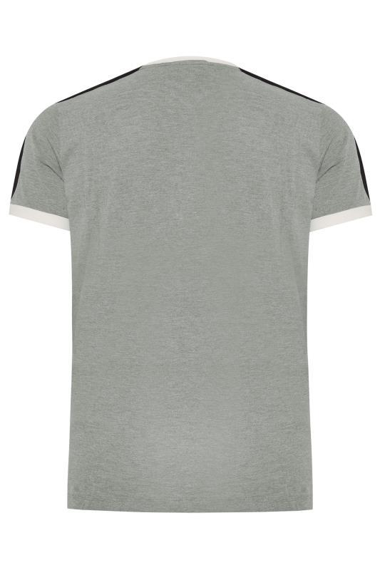 LUKE 1977 - Archie Boy t-shirt in gemêleerd grijs