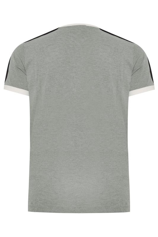 LUKE 1977 Grey Marl Archie Boy Tape T-Shirt