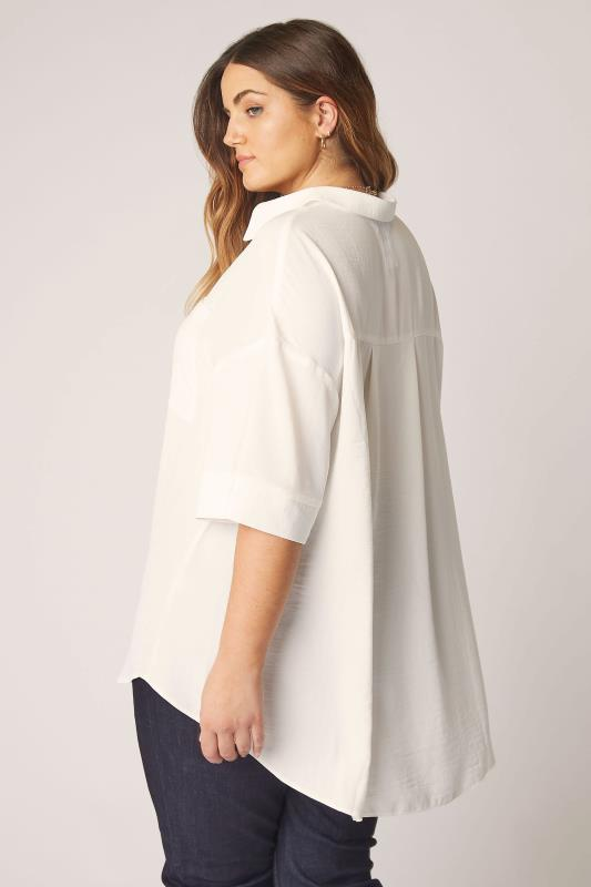 THE LIMITED EDIT White Pleated Front Top_C.jpg