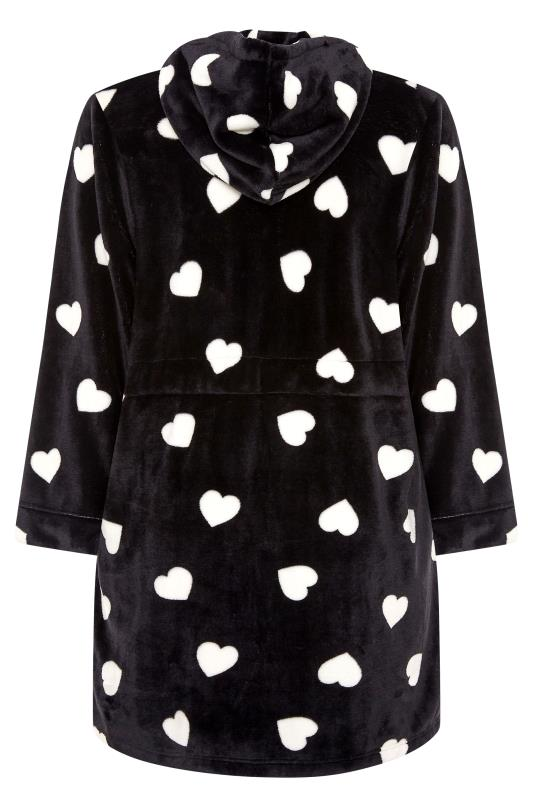 Black Heart Print Zip Dressing Gown_BK.jpg