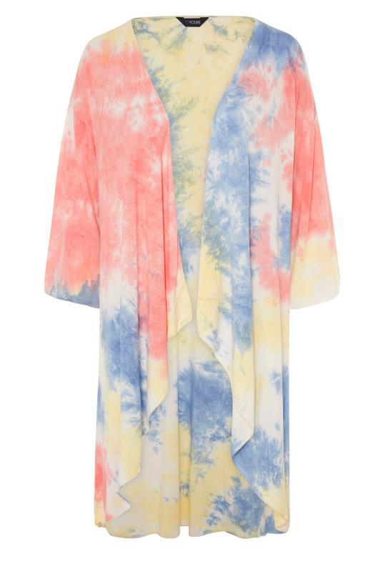 Multicoloured Tie Dye Kimono_F.jpg