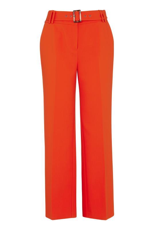 Orange Wide Leg Belted Culottes_F.jpg