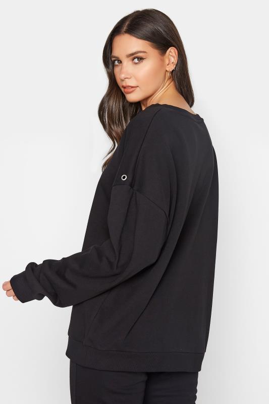 LTS Black Eyelet Detail Sweatshirt_C.jpg