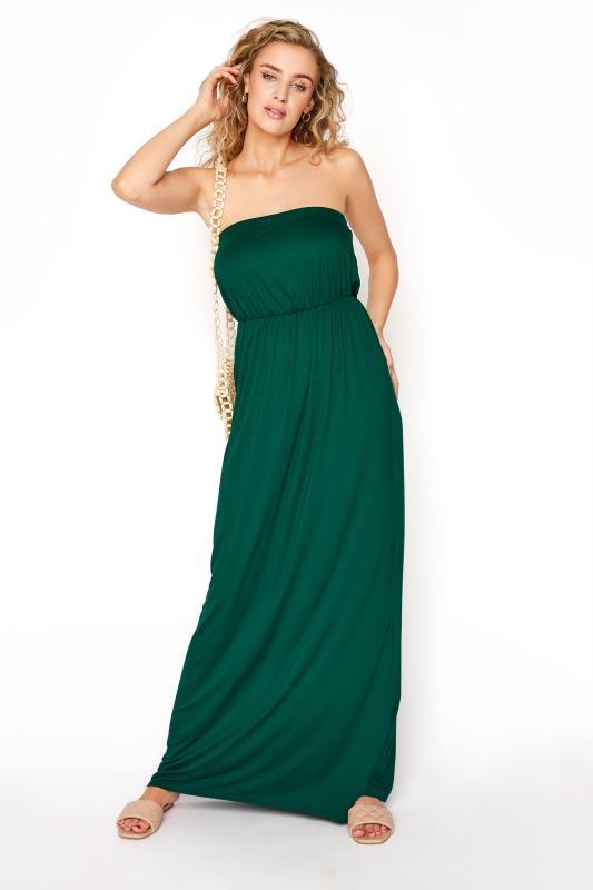 LTS Emerald Green Strapless Maxi Dress_B.jpg