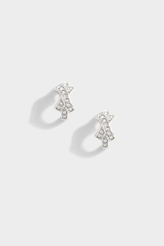 Silver Diamante Kiss Hoop Earrings_153786.jpg
