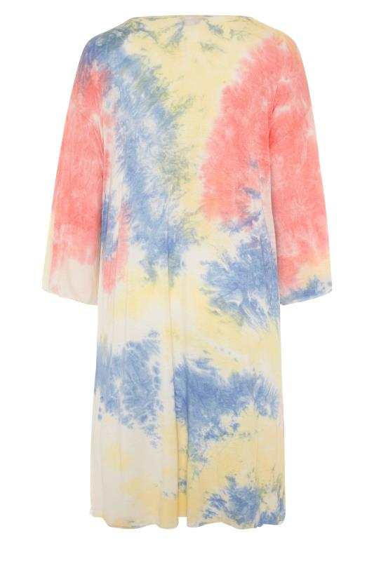 Multicoloured Tie Dye Kimono_BK.jpg