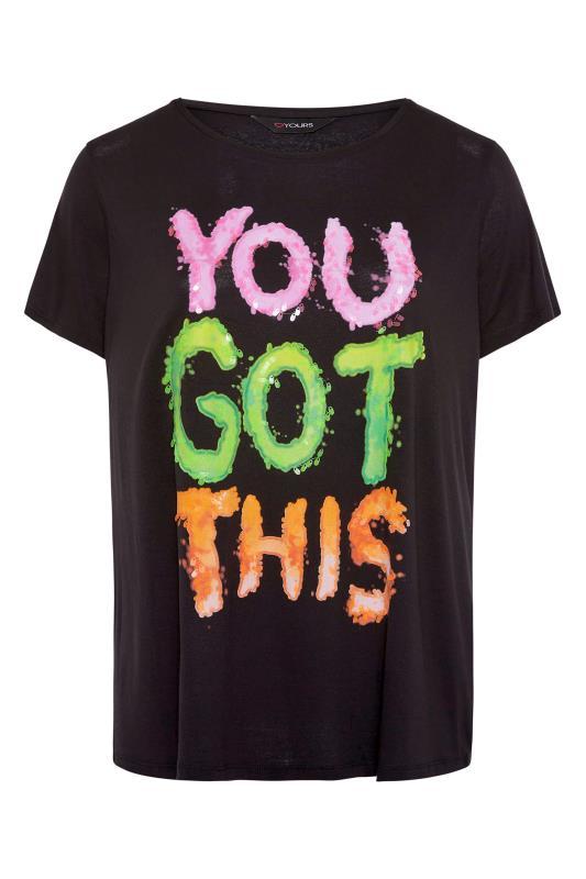 Black Sequin 'You Got This' Slogan T-Shirt_F.jpg