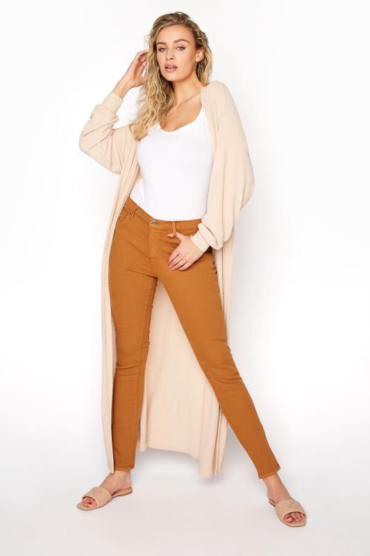 Tall Jeans YOGA JEANS Rust Rachel Skinny Jeans