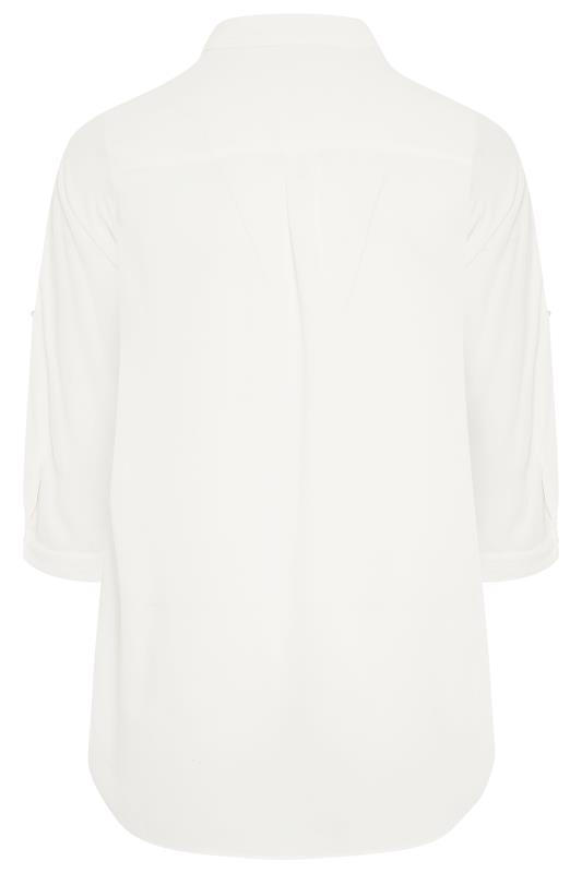 White Oversized Chiffon Shirt_BK.jpg