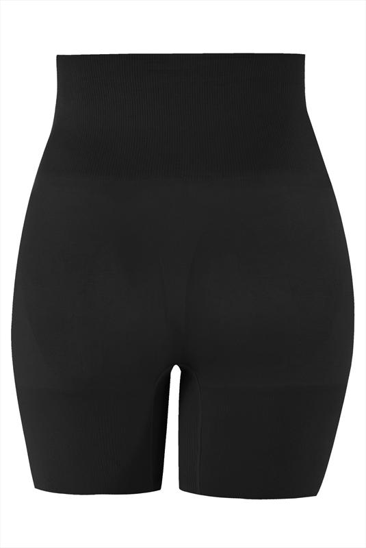 Firm control black seamfree shaper short plus size 16 to 32
