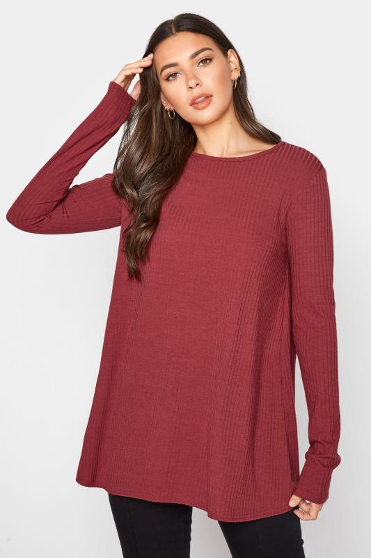 Tall  LTS Rust Ribbed Swing Top