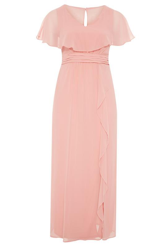 Pink Angel Sleeve Maxi Dress_F.jpg