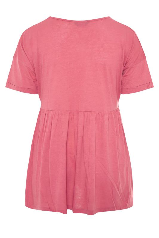 Pink Peplum Drop Shoulder Top_BK.jpg