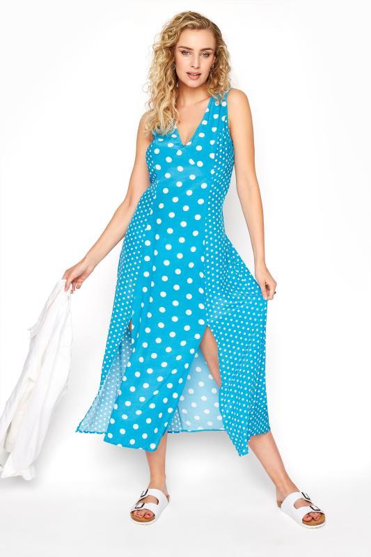 Blue Mix Spot Print Midi Dress_B.jpg
