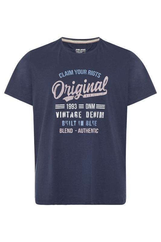 BLEND Navy Original T-Shirt