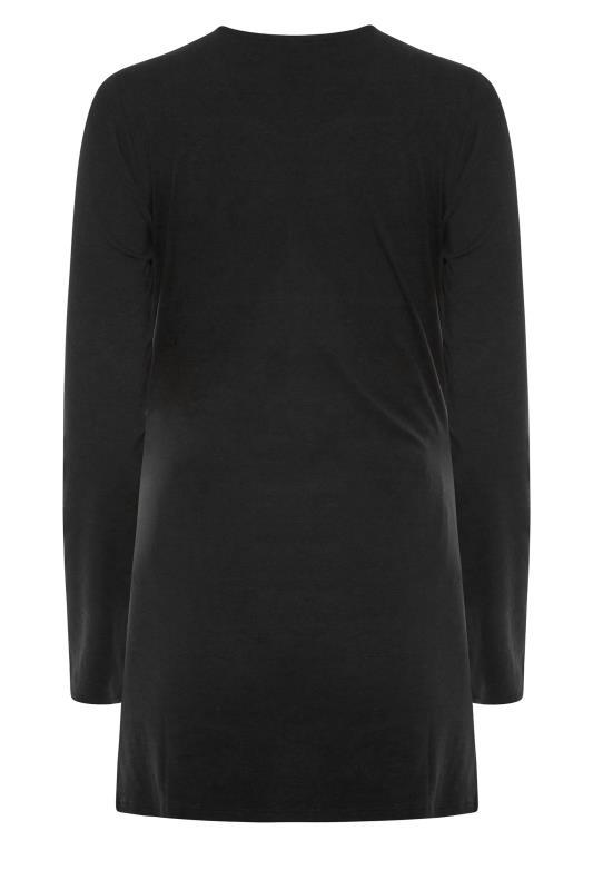LTS 2 PACK Maternity Black & White Long Sleeve Top_BK.jpg
