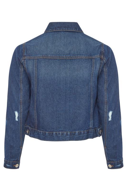 Indigo Blue Distressed Denim Jacket_BK.jpg