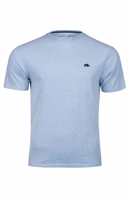 Tallas Grandes RAGING BULL Sky Blue Signature T-Shirt