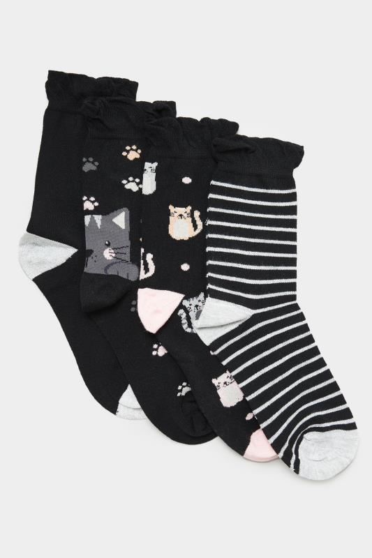 4 PACK Black Cat Ankle Socks_B.jpg