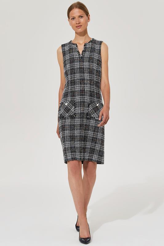 KARL LAGERFELD Black Tweed Dress