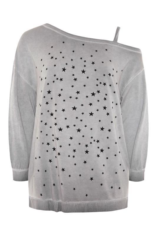 Grey Washed Asymmetric Cold Shoulder Sweatshirt_F.jpg