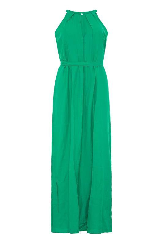 LTS Green Halter Neck Maxi Dress_F.jpg