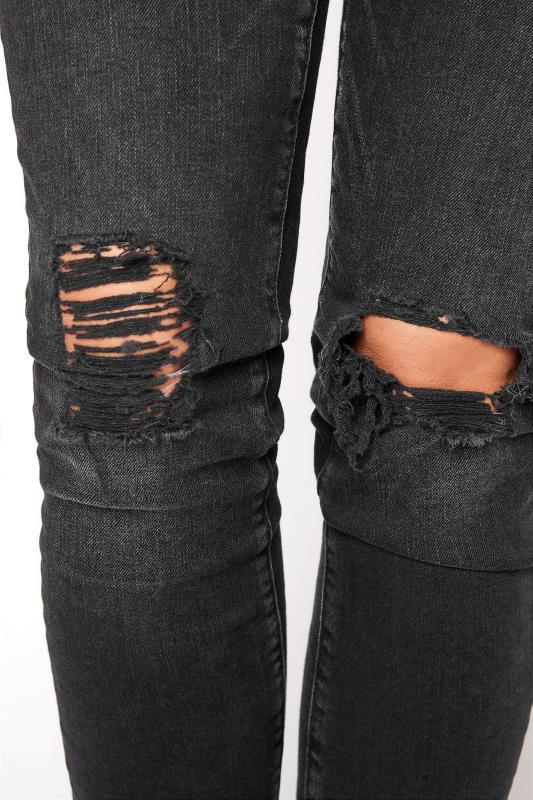 MAVI Black Alissa Skinny Ripped Jeans_D.jpg