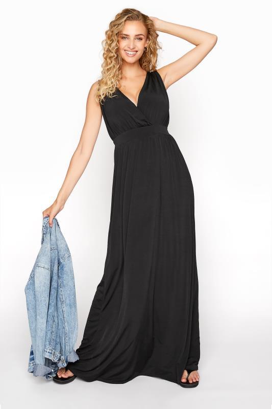 LTS Black V-Neck Maxi Dress_B.jpg