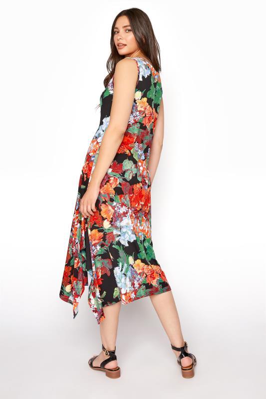 LTS Multi Floral Hanky Hem Sleeveless Dress_C.jpg