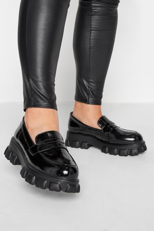 Plus Size  LIMITED COLLECTION Black Chunky Loafer in Regular Fit