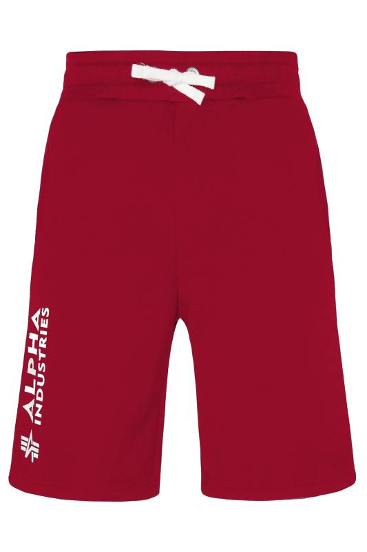 Plus Size  ALPHA INDUSTRIES Red A1 Shorts
