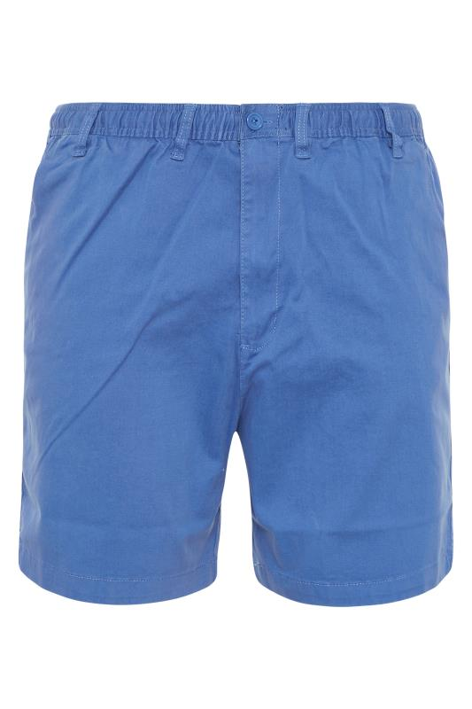 Men's  ESPIONAGE Blue Stretch Rugby Shorts
