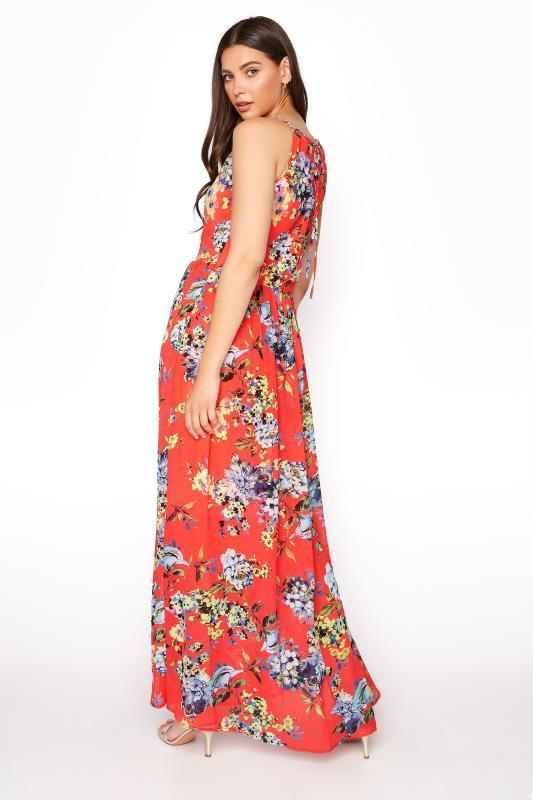 LTS Coral Floral Halter Neck Maxi Dress_C.jpg