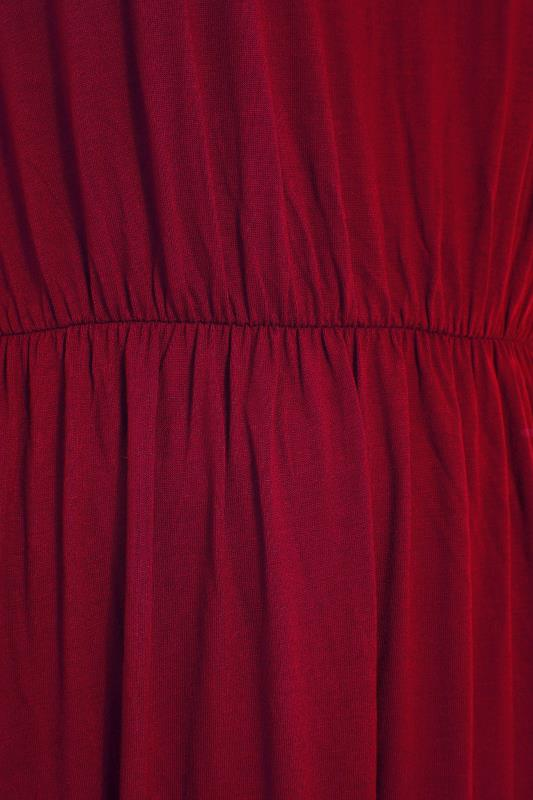 YOURS LONDON Wine Red Pocket Maxi Dress_S.jpg