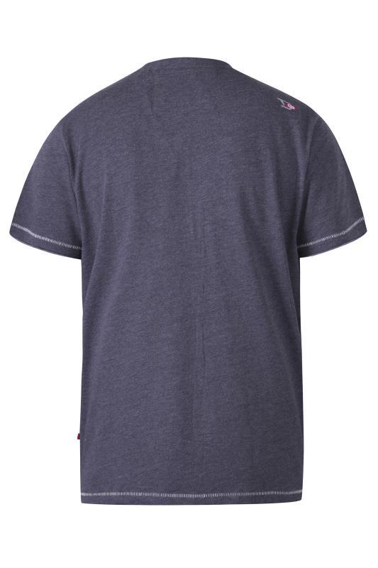 D555 Navy New York City Printed T-Shirt