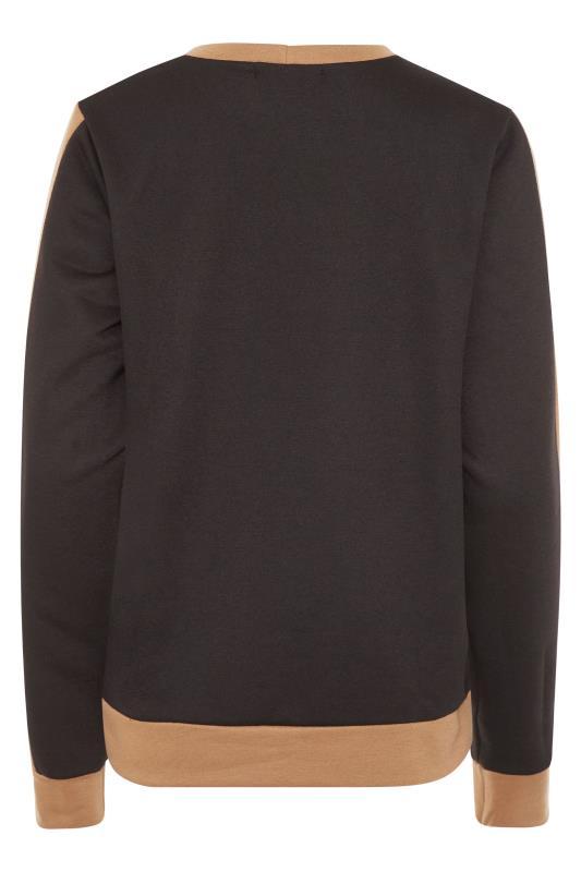 LTS Black Tape Co-ord Sweatshirt