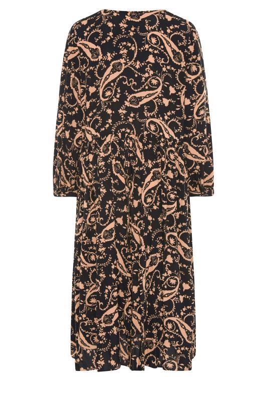 THE LIMITED EDIT Black Paisley Boho Maxi Dress_BK.jpg