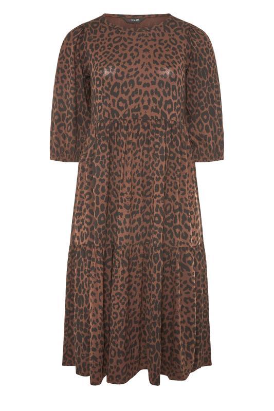 Brown Animal Print Midaxi Dress_F.jpg
