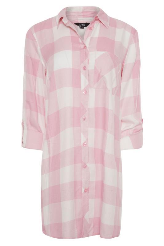 LTS Pink Check Boyfriend Shirt_F.jpg