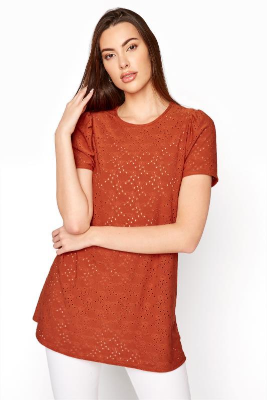 LTS Rust Broidery Puff Sleeve Top_A.jpg