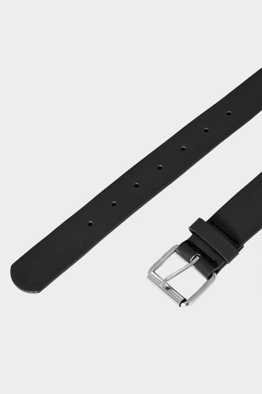 BadRhino Black PU Bonded Leather Belt