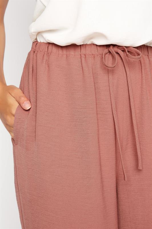 LTS Pink Wide Leg Twill Trousers_D.jpg
