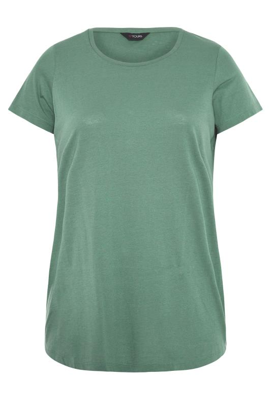 Sage Green Marl T-Shirt_F.jpg