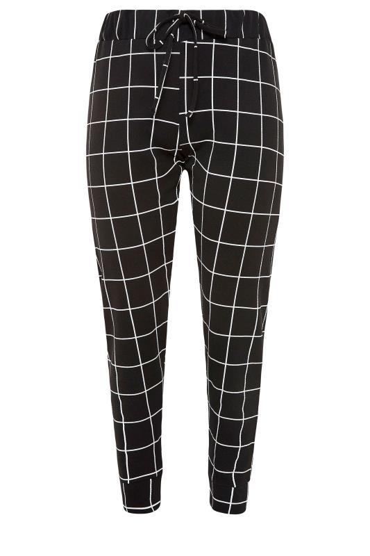 Black Grid Check Cuffed Trousers_F.jpg