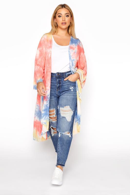 Multicoloured Tie Dye Kimono_B.jpg