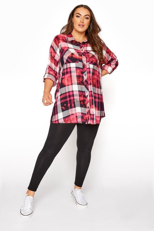 Pink Check Oversized Shirt_B.jpg