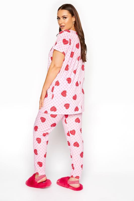 Pink Heart Spot Pyjama Set_C.jpg