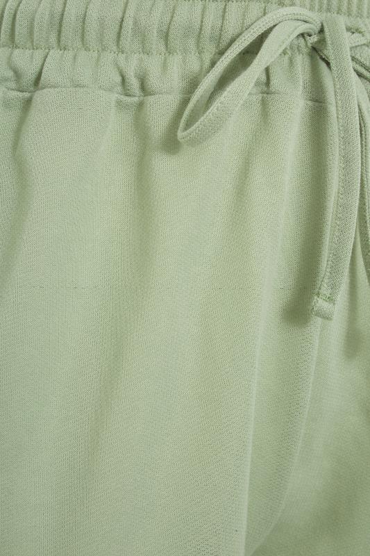 Sage Green Jersey Jogger Shorts_S.jpg